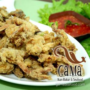 Kepiting Lemburi Goreng (Fried Soft Shell Crab)